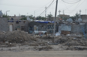 Slum in Basra